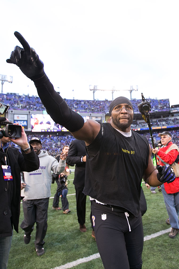 Ray Lewis Final Home Game