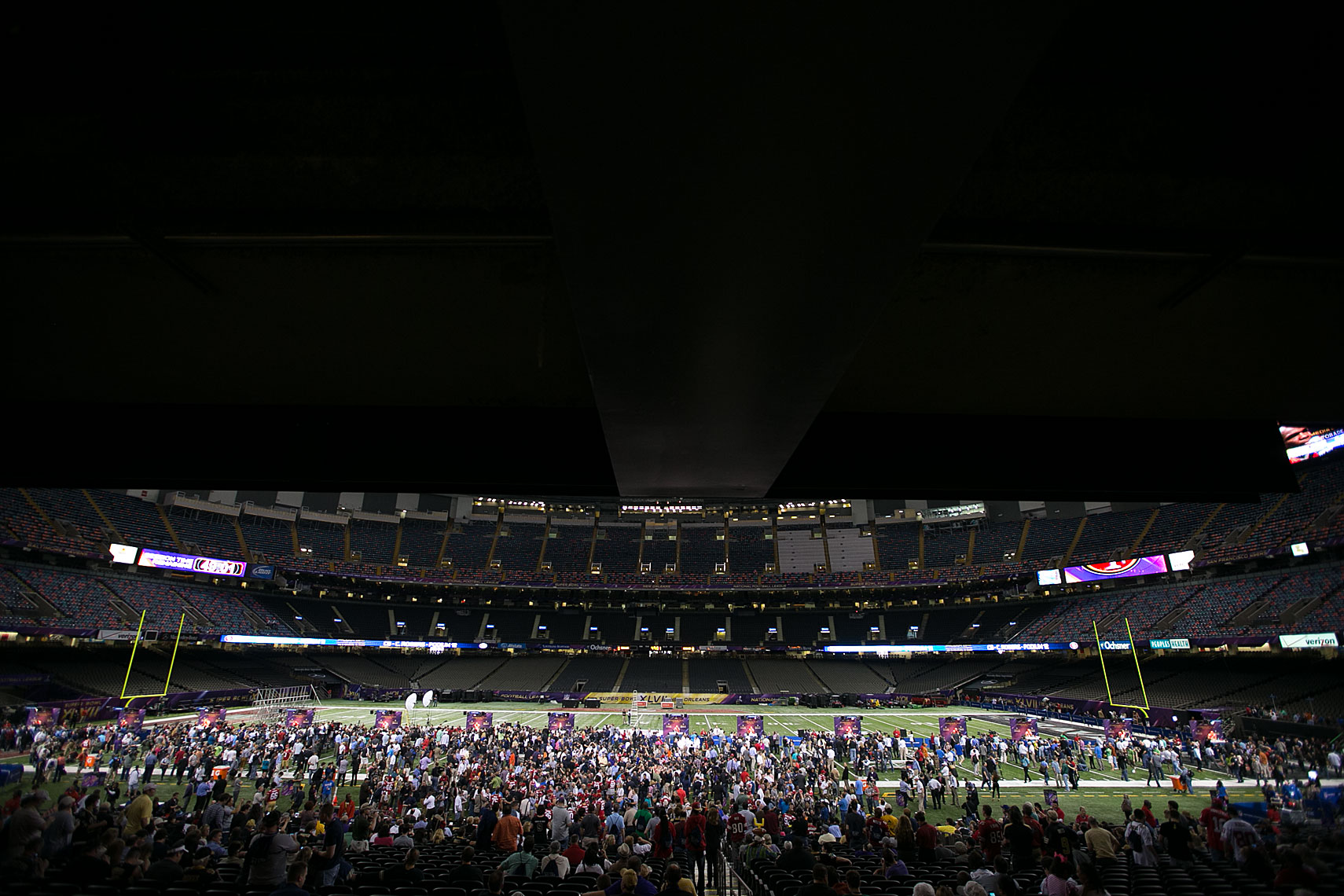 Super Bowl XLVII Media Day