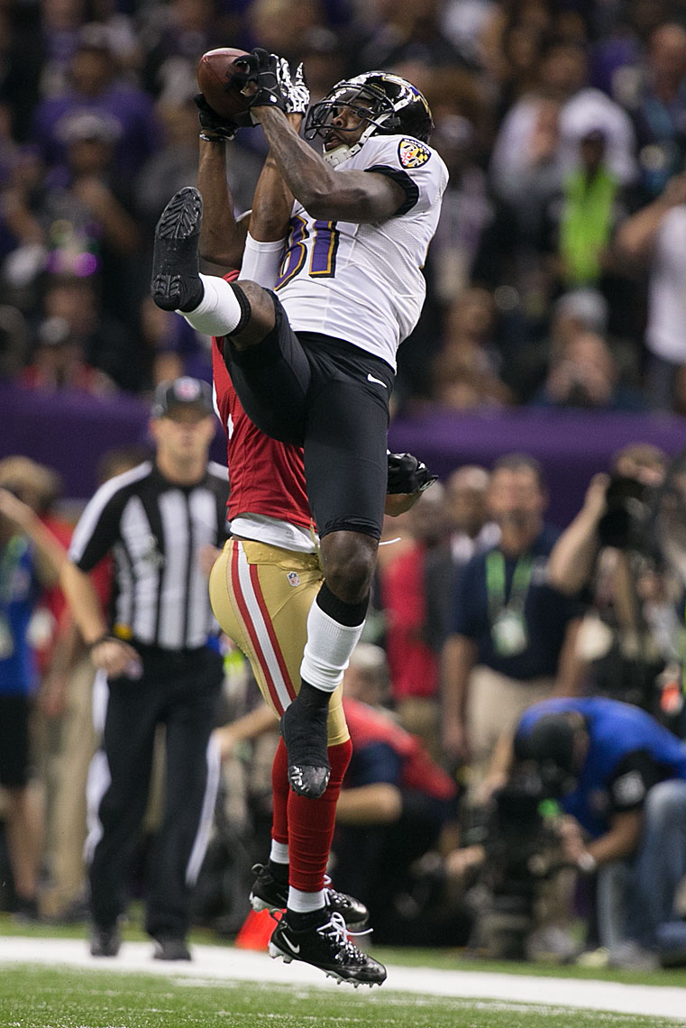 Anquan Boldin Super Bowl XLVII catch